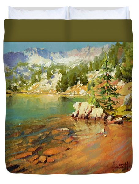 Crystalline Waters Duvet Cover