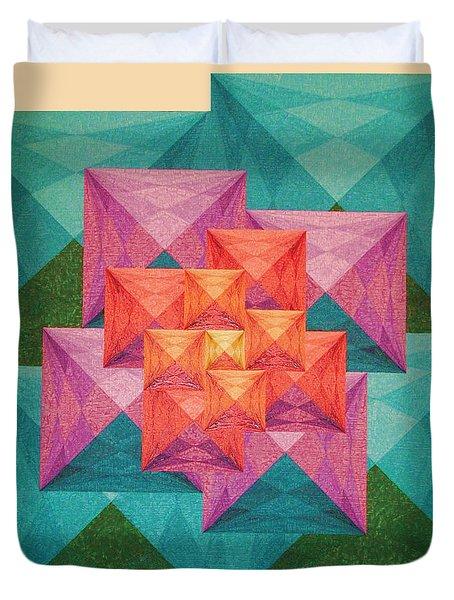 Crystallization Duvet Cover