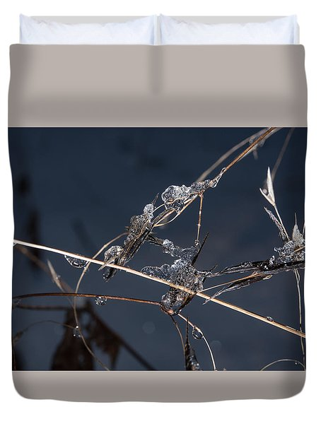 Crystals Duvet Cover by Annette Berglund