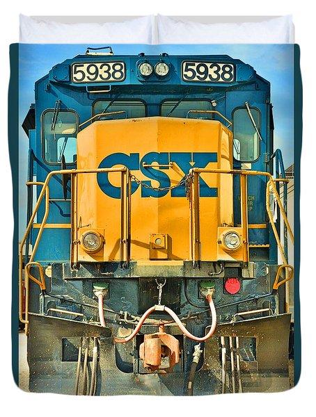 Csx 5938 Duvet Cover