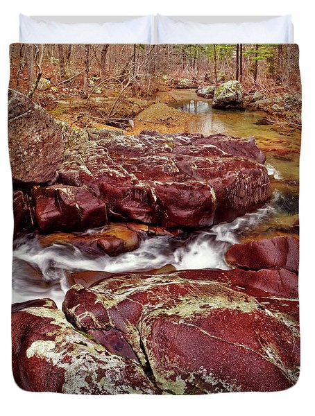 Cub Creek Shut-ins Duvet Cover