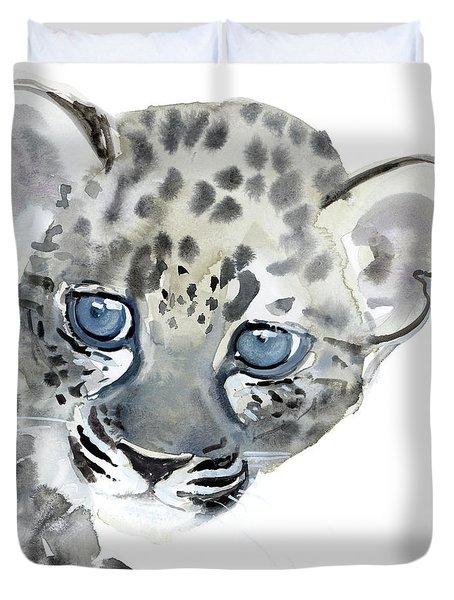 Cub Duvet Cover by Mark Adlington