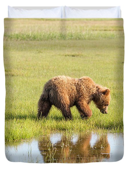 Cub Reflection Duvet Cover