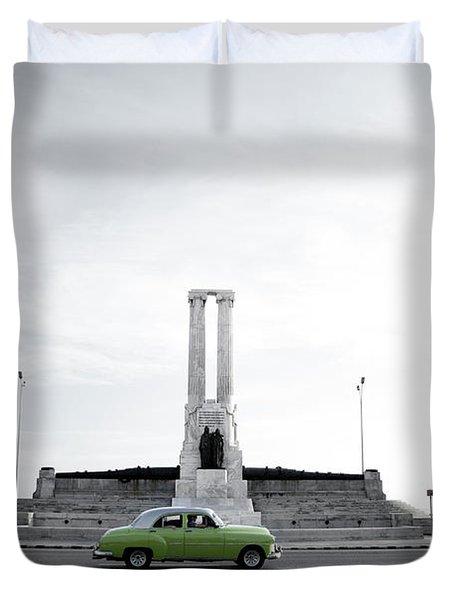 Cuba #1 Duvet Cover