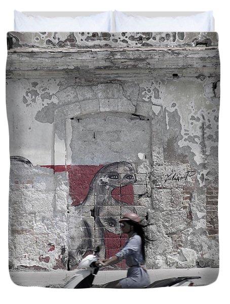 Cuba #5 Duvet Cover