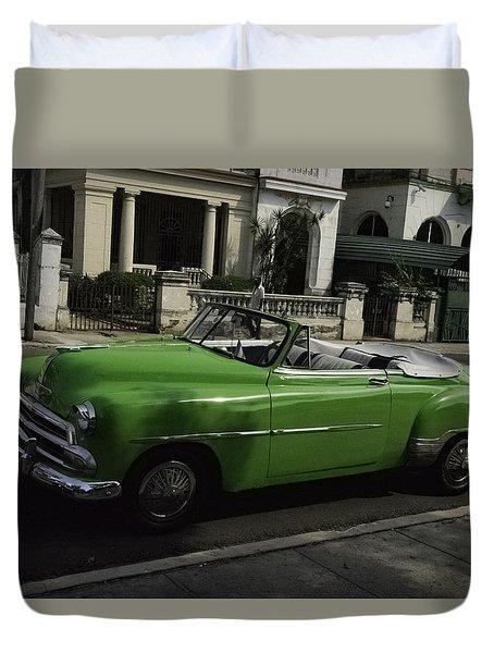 Cuba Car 3 Duvet Cover