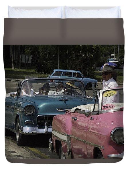 Cuba Car 4 Duvet Cover