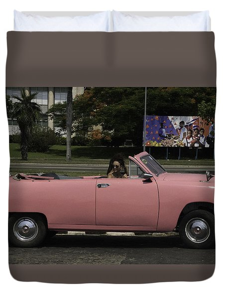 Cuba Car 5 Duvet Cover