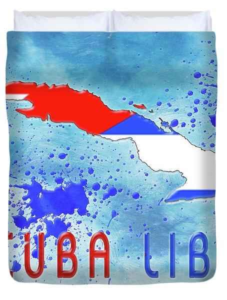 Cuba Libre Duvet Cover