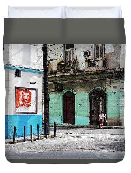 Cuban Icons Duvet Cover