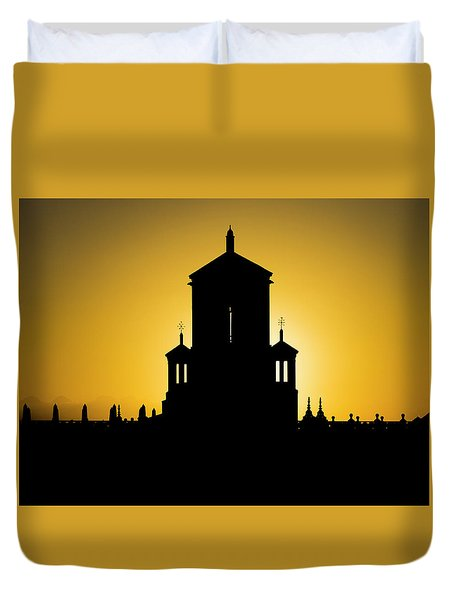Cuban Landmark. Duvet Cover