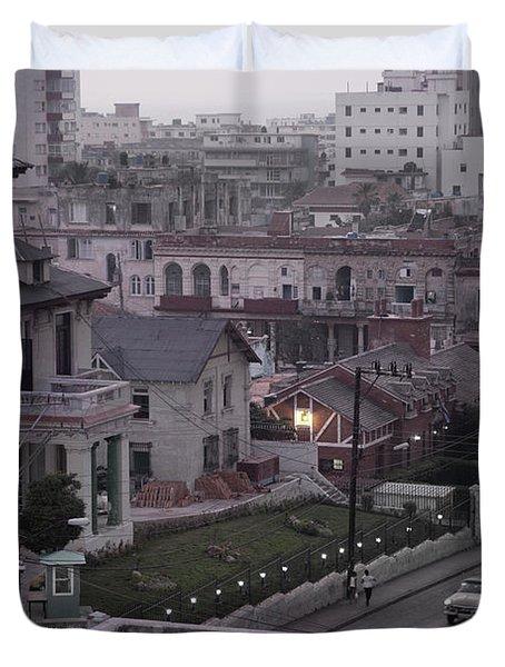 Cuban Life Duvet Cover