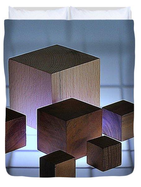 Cubes Duvet Cover
