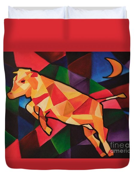 Cubism Cow Duvet Cover