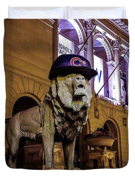 Cubs Lion Hearts Duvet Cover