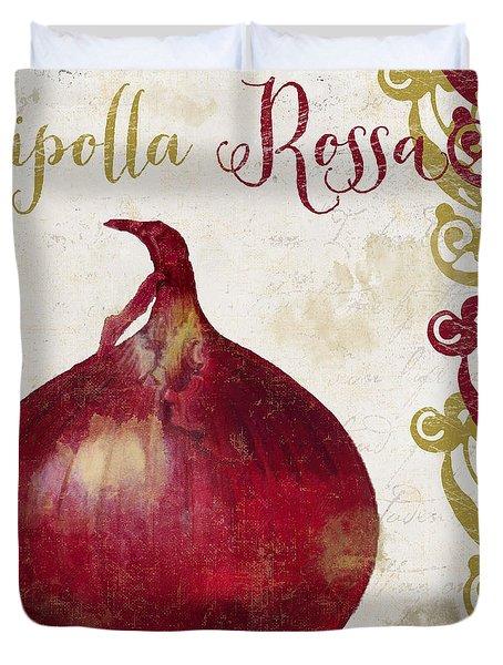 Cucina Italiana Onion Duvet Cover