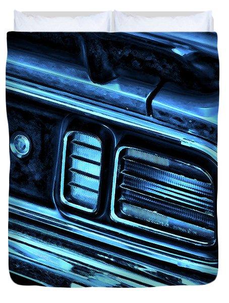 'cuda By Plymouth Duvet Cover by Gordon Dean II