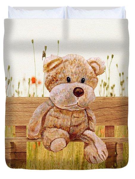 Cuddly In The Garden Duvet Cover