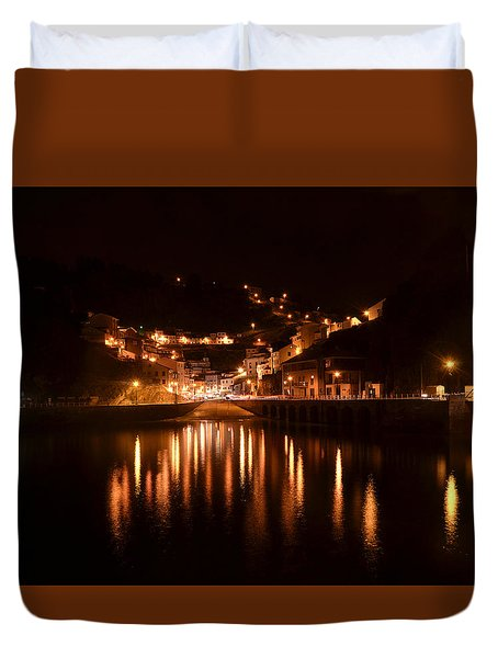 Cudillero Night Duvet Cover