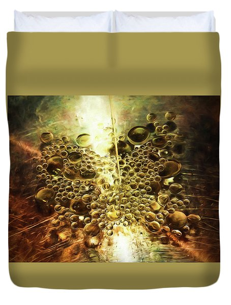 Culinary Abstract Duvet Cover