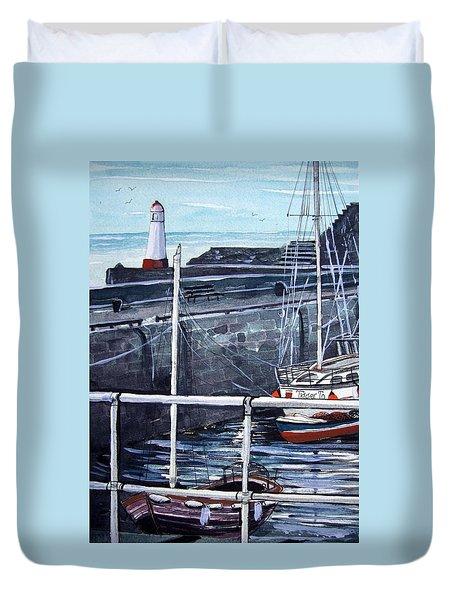 Cullen Beacon Duvet Cover by Trudy Kepke