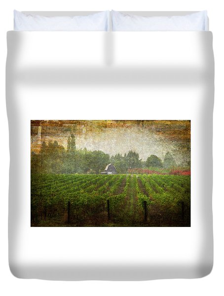 Cultivating A Chardonnay Duvet Cover