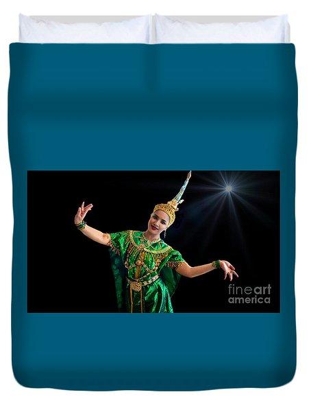 Cultural Thai Dance Duvet Cover