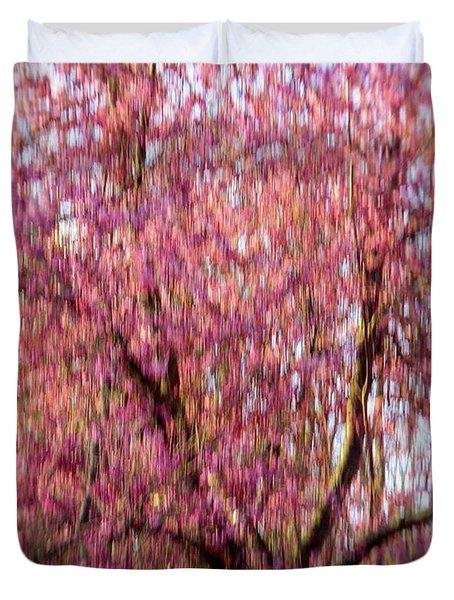 Columnar Sargent Cherry 2 Duvet Cover