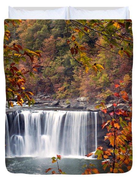 Cumberland Falls Two Duvet Cover