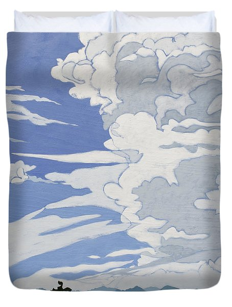 Cumulonimbus Afternoon Duvet Cover