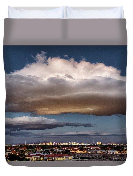 Cumulus Las Vegas Duvet Cover