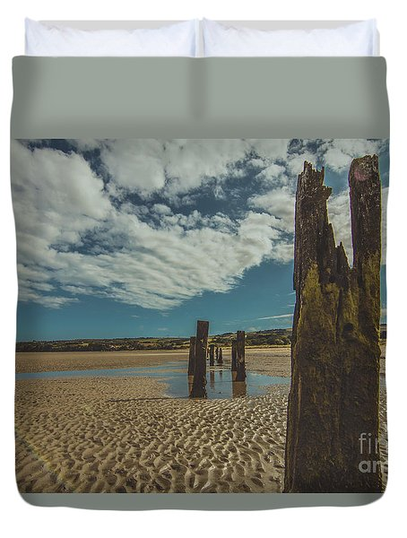 Cunnigar Groynes 2 Duvet Cover