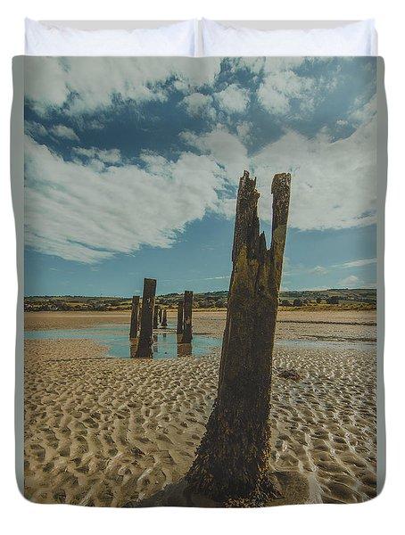Cunnigar Groynes 3 Duvet Cover