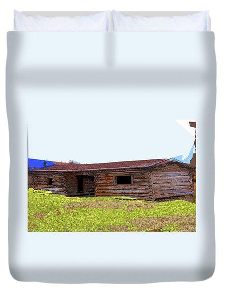 Cunningham Cabin Duvet Cover