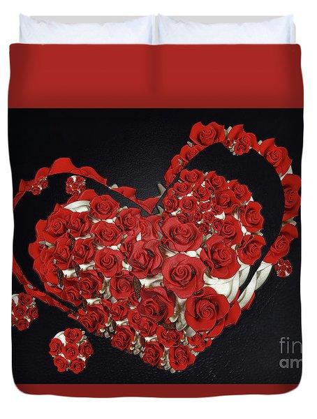 Cupcake Love Duvet Cover by Afrodita Ellerman