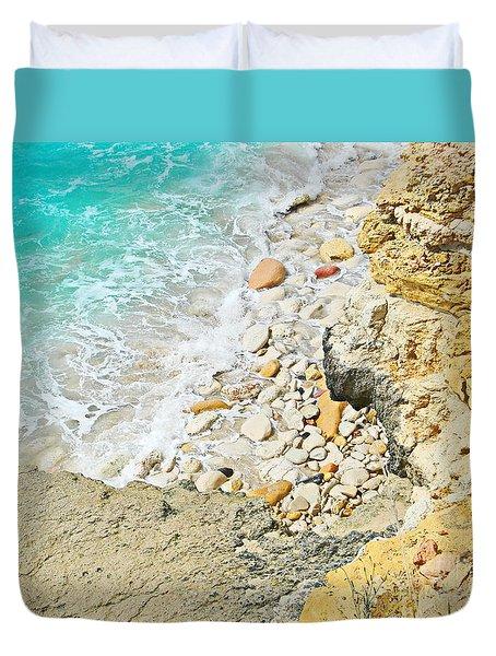 The Sea Below Duvet Cover