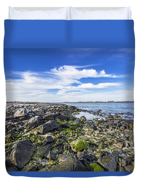 Cupsogue Bayside Duvet Cover