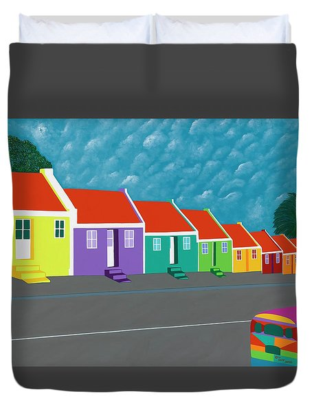 Curacao Dreams IIi Duvet Cover