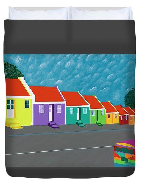 Curacao Dreams IIi Duvet Cover