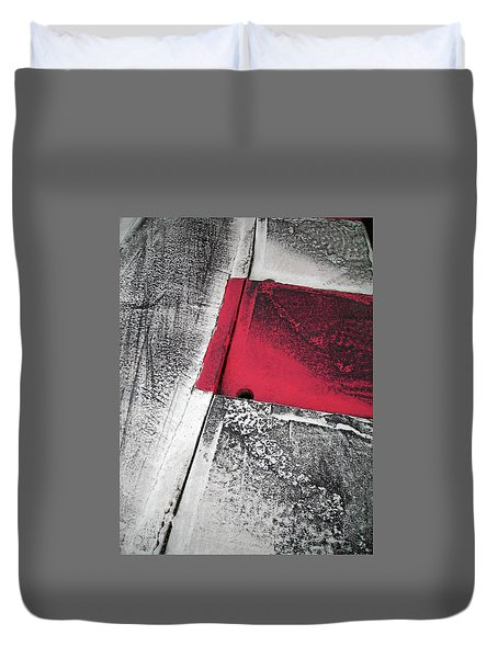 Duvet Cover featuring the photograph Curbs At The Canadian Formula 1 Grand Prix by Juergen Weiss