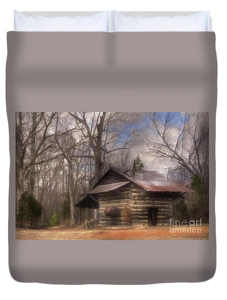 Duvet Cover featuring the photograph Curing Time by Benanne Stiens