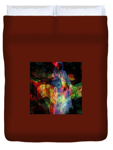 Curious Spirit Duvet Cover by Fania Simon