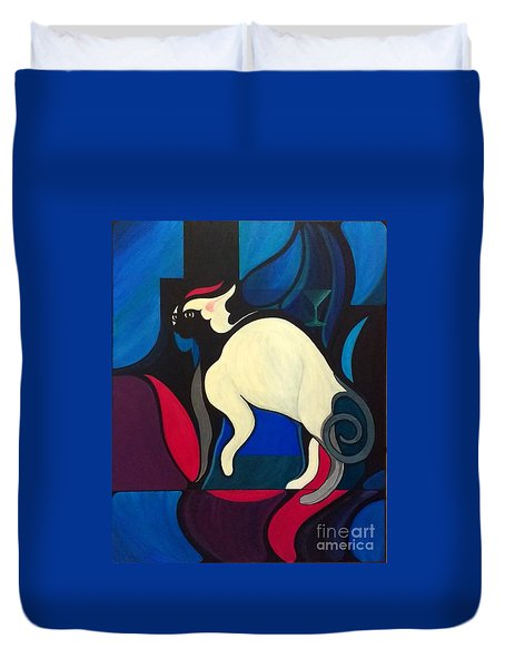 Pyewacket Duvet Cover