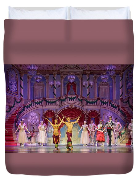Curtain Call Duvet Cover