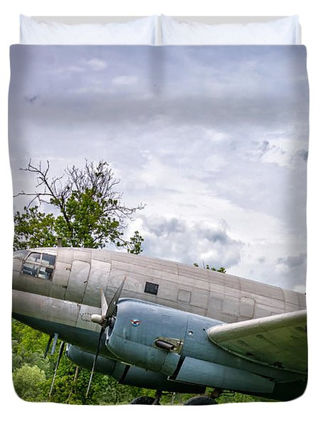 Curtiss C-46 Commando Duvet Cover
