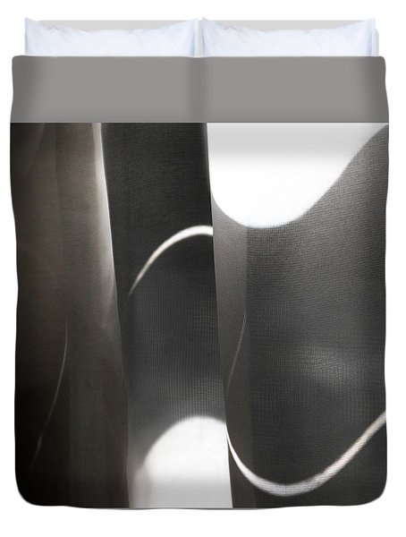 Curve Over Curve - Duvet Cover