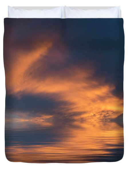 Curved Duvet Cover by Jerry McElroy