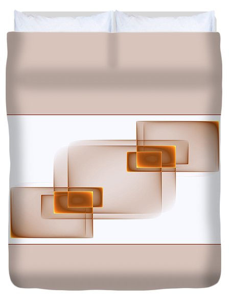 Curves Abstract 001 Duvet Cover