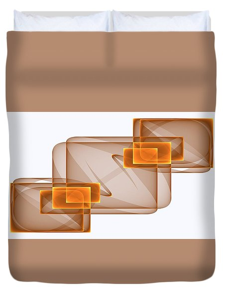 Curves Abstract 002 Duvet Cover