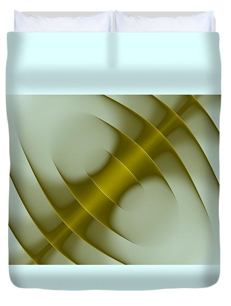 Curves Abstract 003 Duvet Cover